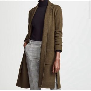 Madewell Camden sweater coat olive green small